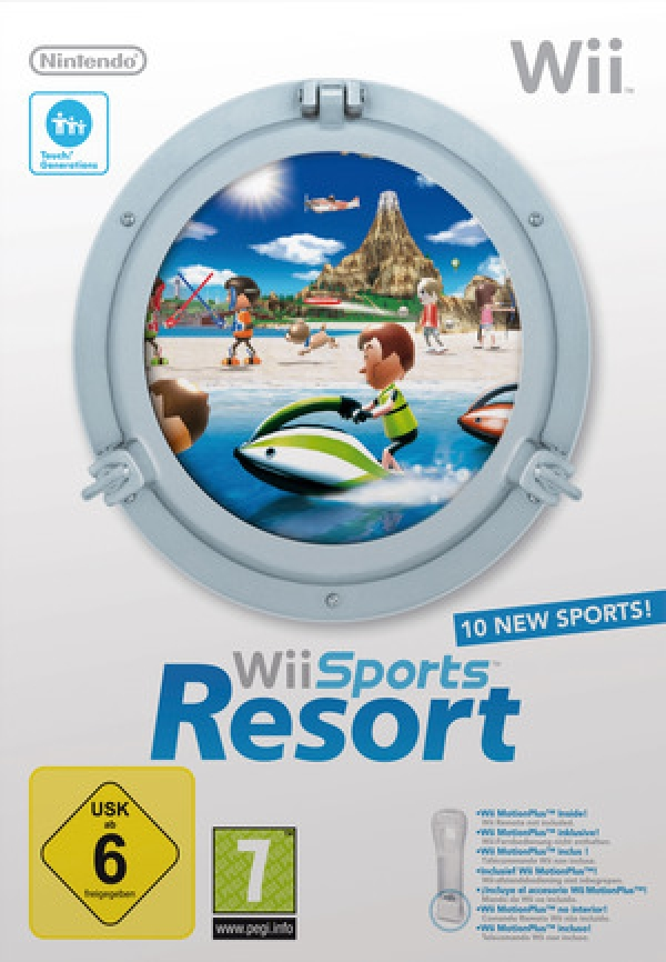 Wii Sports Resort - Pil og bue